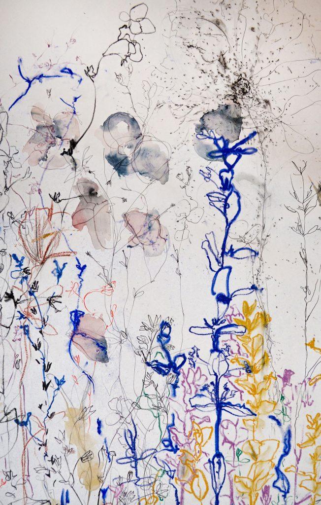 Marie Badziong, Wildwiese (Detail), 2020
