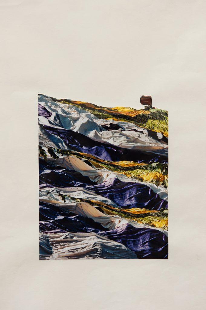 Elisabeth Schuhmann, Das Prinzip Hoffnung (Collage), 2018, Foto auf Papier, 42 x 29,7 cm