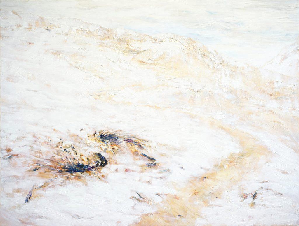 cold morning, 110 X 150 cm, oil on linen, 2018