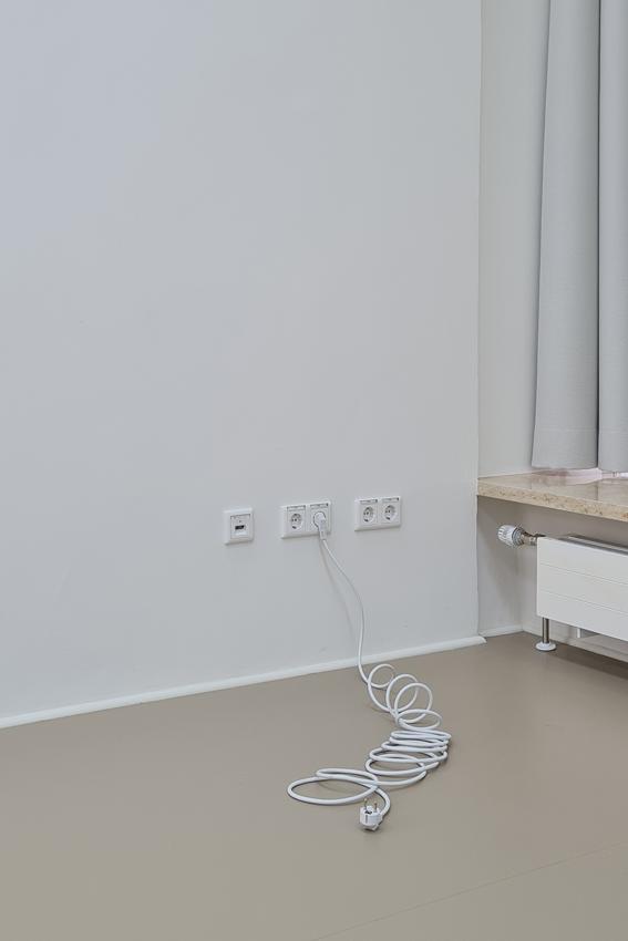 Julius Jurkiewitsch, o. T. (Kurzschluss), 2020, Mixed Media, Maße variabel