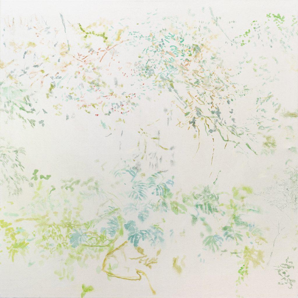 Samaya A. Thier | o.T. - n.o 11 | 145 × 145 cm | 2020