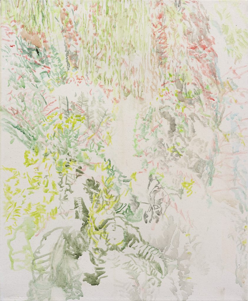 Samaya A. Thier | o.T. - n.o 2 | 49 × 60 cm | 2019