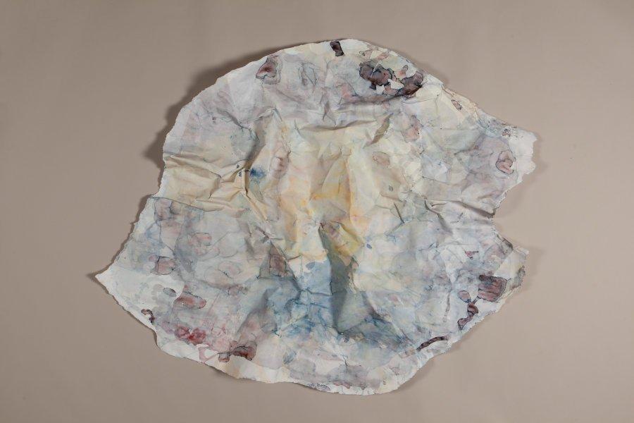 Stephanie Bothe, Ich sterbe nicht an kalten Füßen, sie töten höchstens., 2020, Aquarell auf Papier, ca. 110x125cm