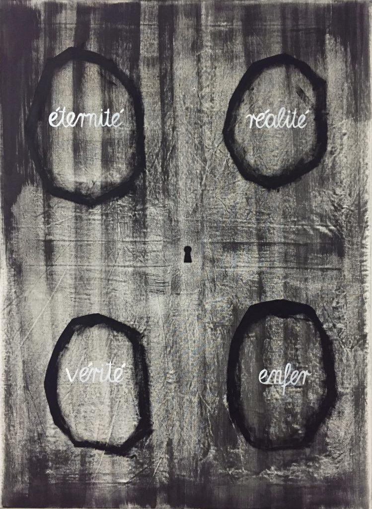 """Enigma"" (2019), Öl auf Leinwand, 110 x 80 cm"