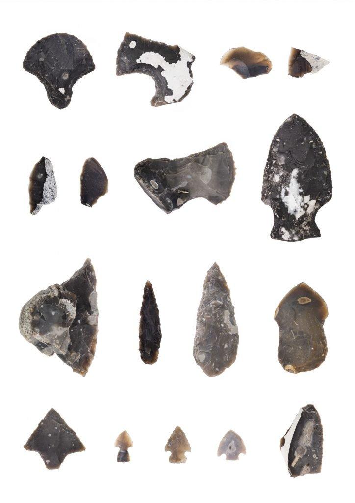 Tools 01, 2021, archaische Werkzeuge (self made)