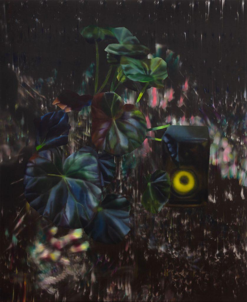 Rute Merk, Nocturne Rokit II, 2020, Öl auf Leinwand, 185 × 140 cm