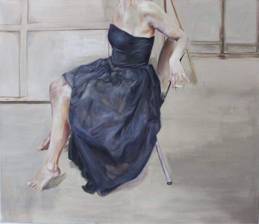 Karolina Vocke, Duchesse, 2016,Öl auf Leinwand, 120x150 cm